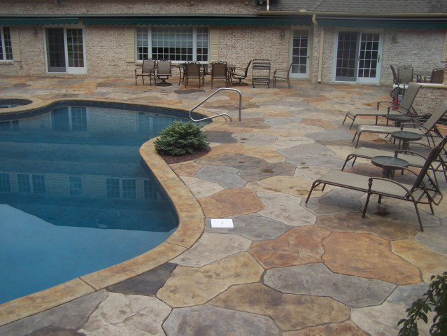 Concrete Pool Decks Photo Gallery Amusing Nj Stamped Concrete Gallery