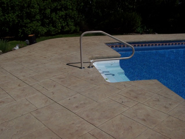 Concrete Pool Decks Photo Gallery Pleasing Nj Stamped Concrete Gallery
