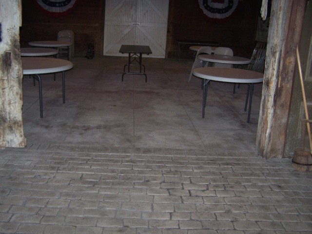 Stamped Cement Floors : Nj stamped concrete